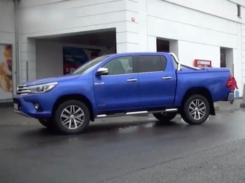 Video test Toyota Hilux DC 2,4 D-4D