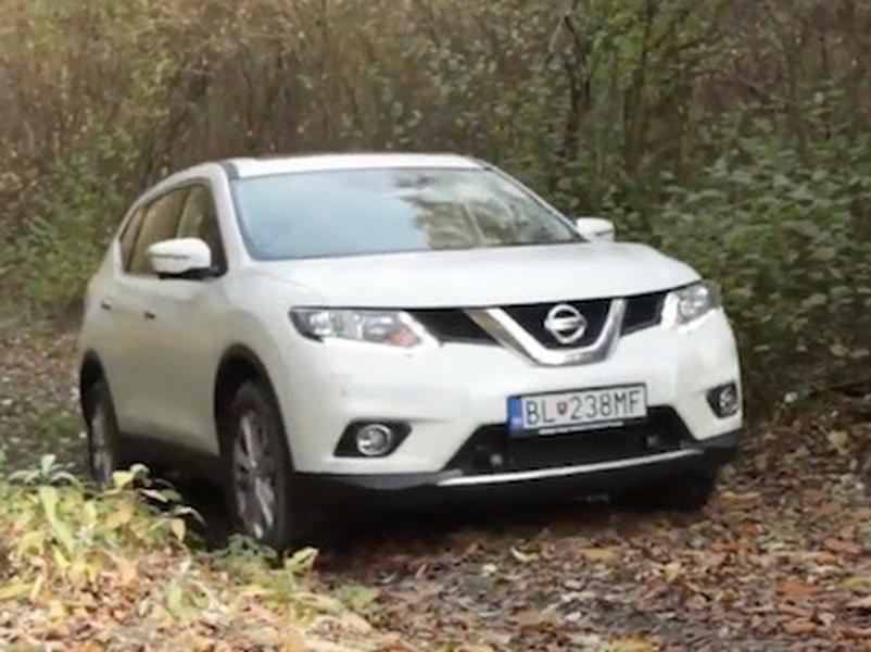 Video test Nissan X-Trail dCi 130 All Mode 4x4