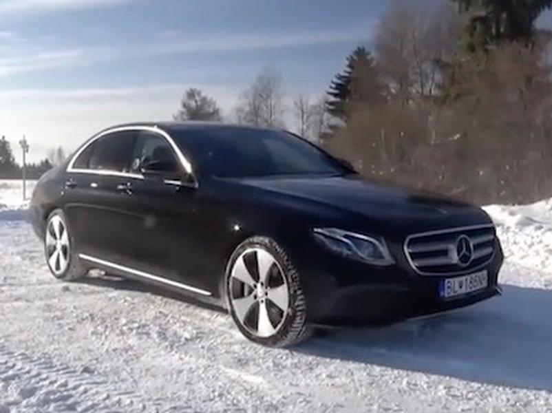 Video test MERCEDES BENZ E400 4Matic