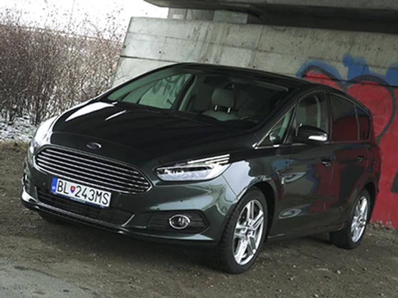 Test Ford S-Max 2.0 TDCi Bi-turbo