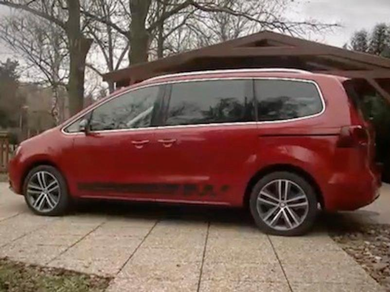 Video test Seat Alhambra 2.0 TDI AWD