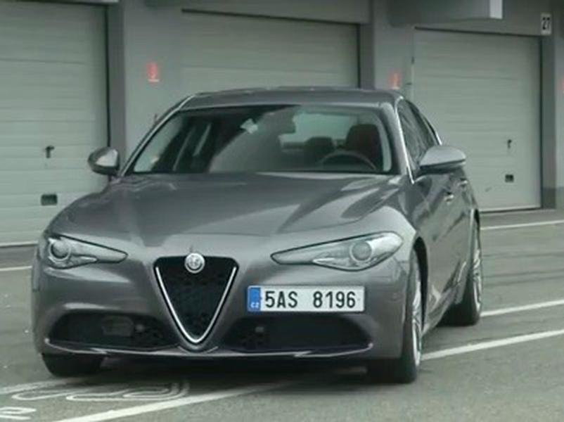 Video test Alfa Romeo Giulia