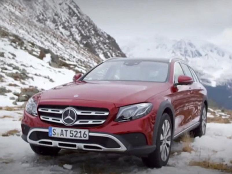 Video test Mercedes-Benz E All-Terrain 220 D