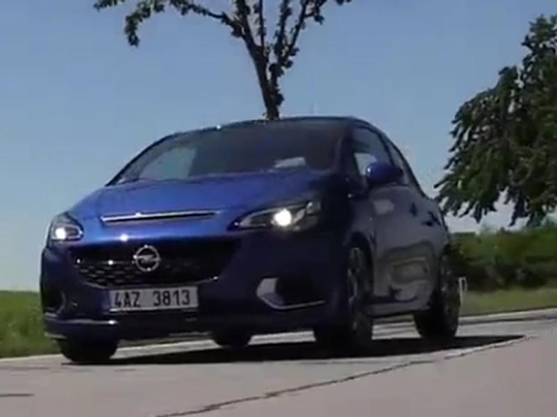 Video test Opel Corsa E OPC