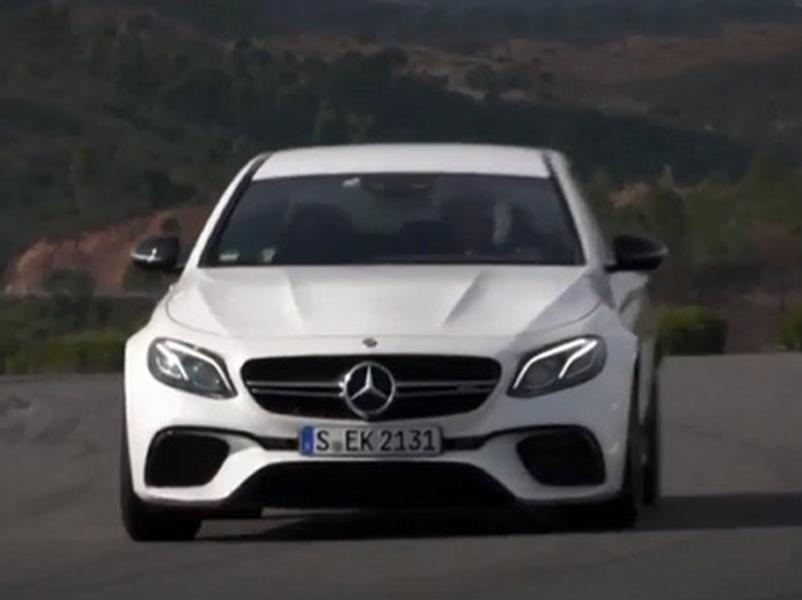 Video test Mercedes AMG E 63 S 4Matic+