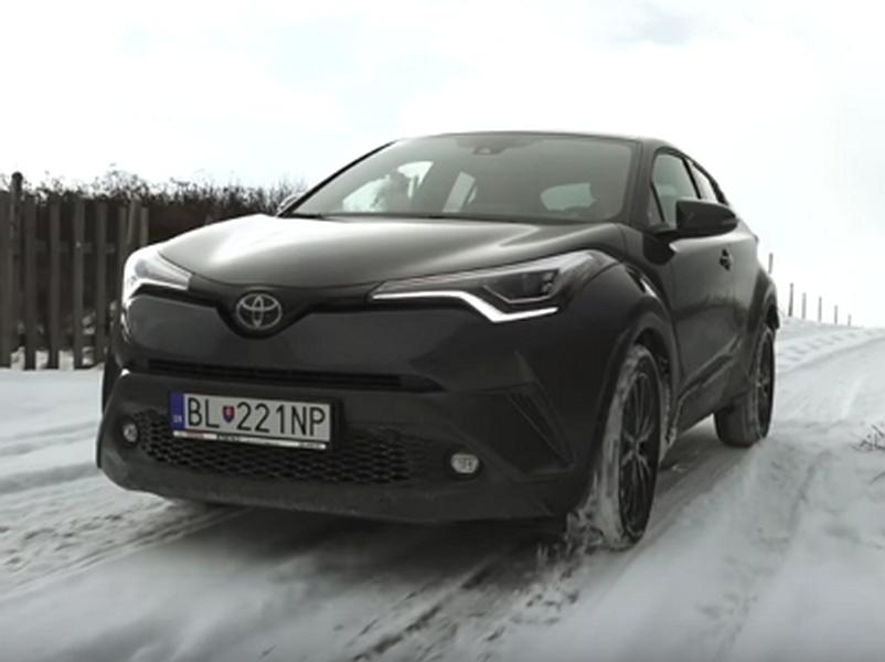 Video test Toyota C-HR 1.2 Turbo