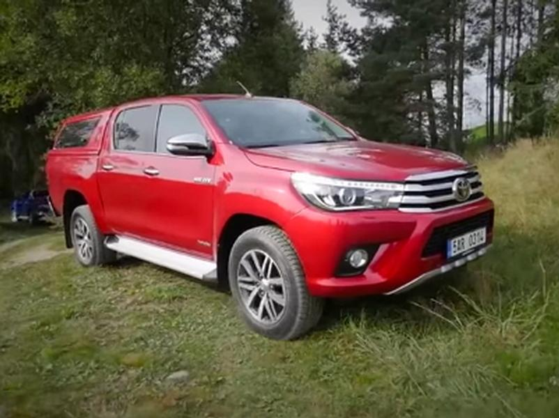 Video test Toyota Hilux 2,4 D-4D 6AT