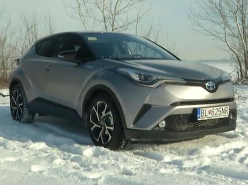 Video test Toyota  C-HR Hybrid