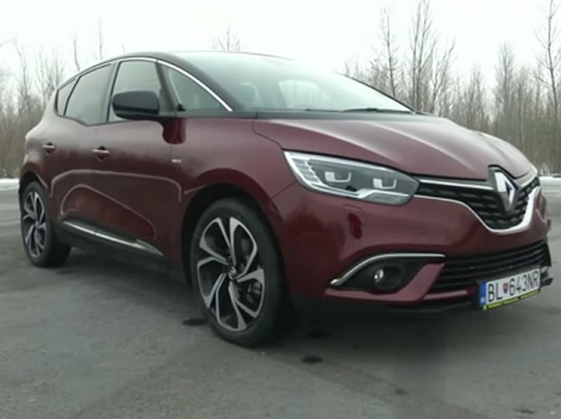 Video test Renault Scenic 1.6 dCi 160