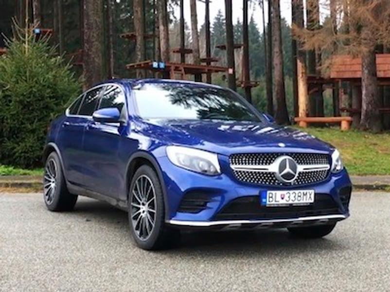 Test Mercedes-Benz GLC 250d Coupé
