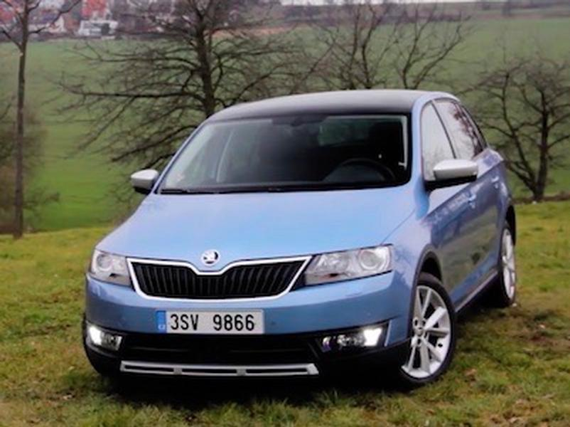 Test Škoda Rapid 1.2