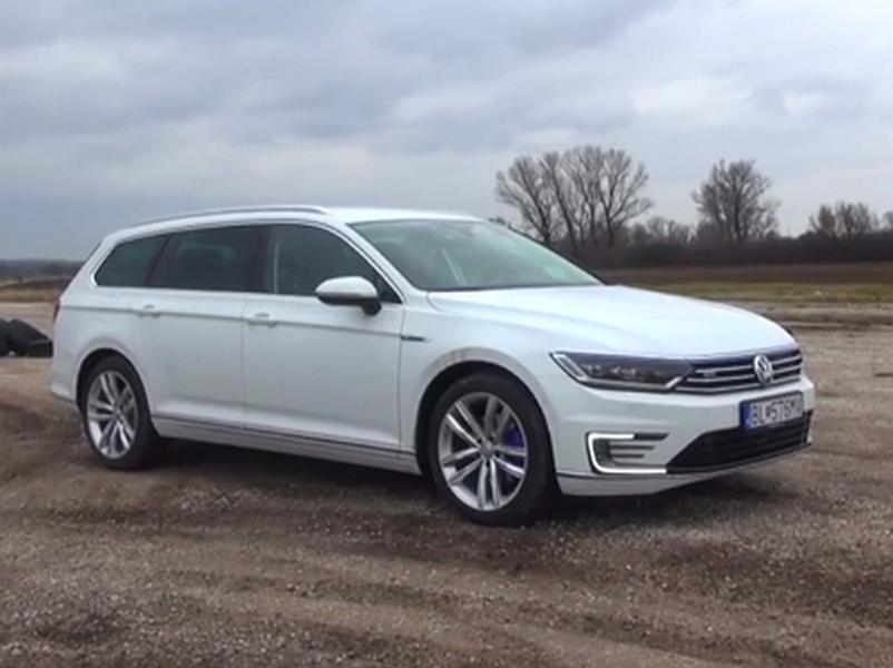Video test Volkswagen Passat GTE Variant