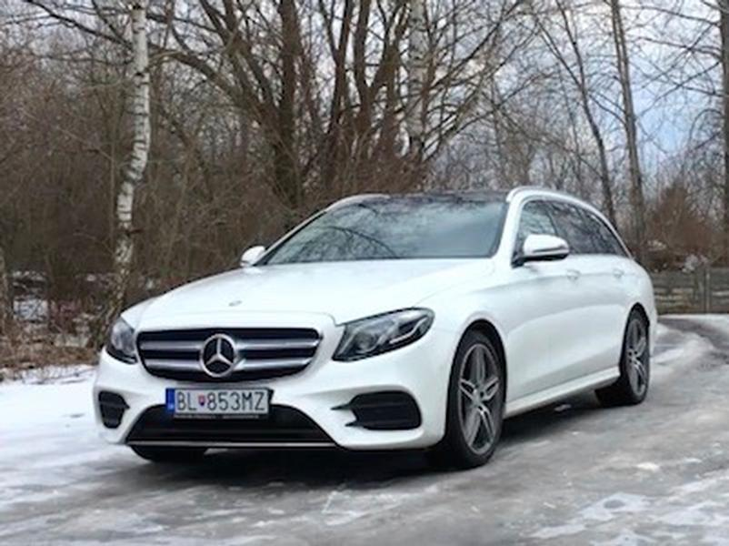 Video test Mercedes-Benz E 220d