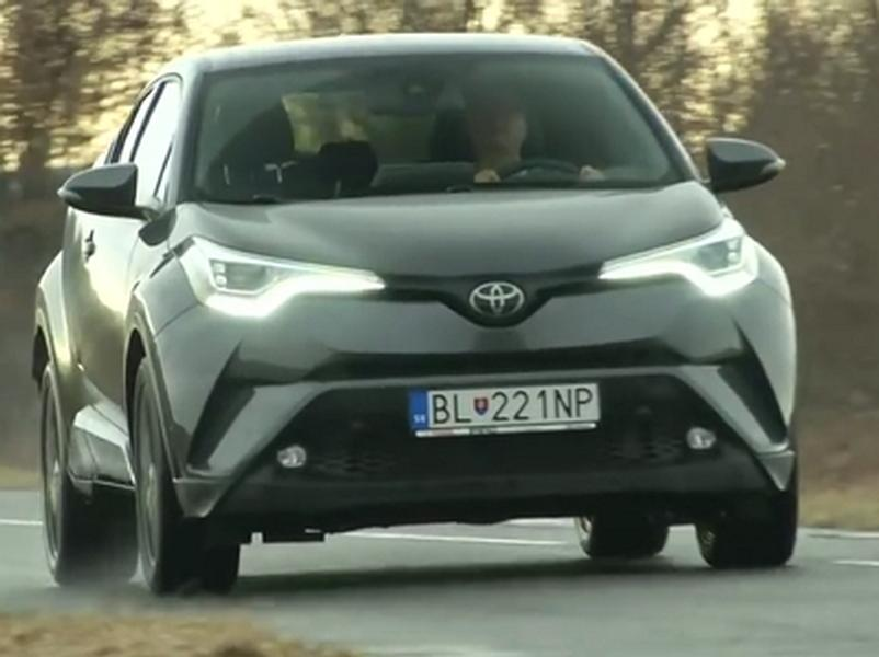 Video test Toyota C-HR