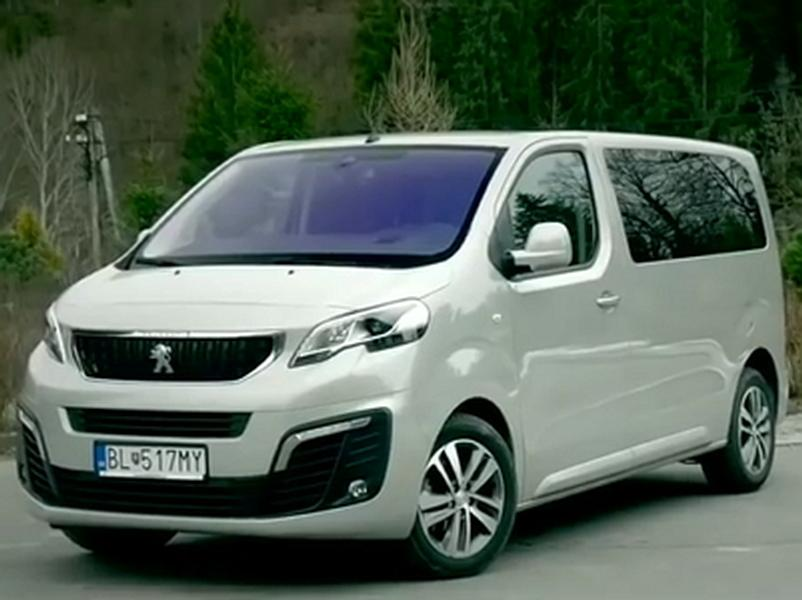 Video test Peugeot Traveller 2.0 HDI
