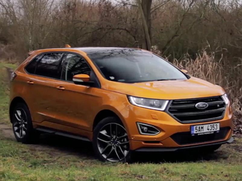 Video test Ford Edge