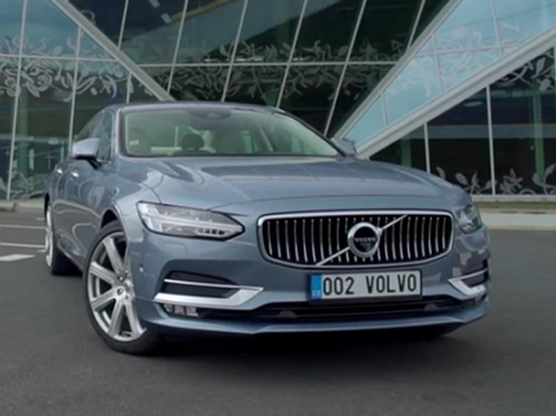 Video test Volvo S90 D5