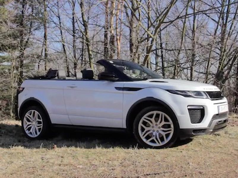 Video test Range Rover Evoque Convertible