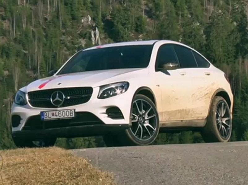 Video test Mercedes GLC Coupe 43 AMG