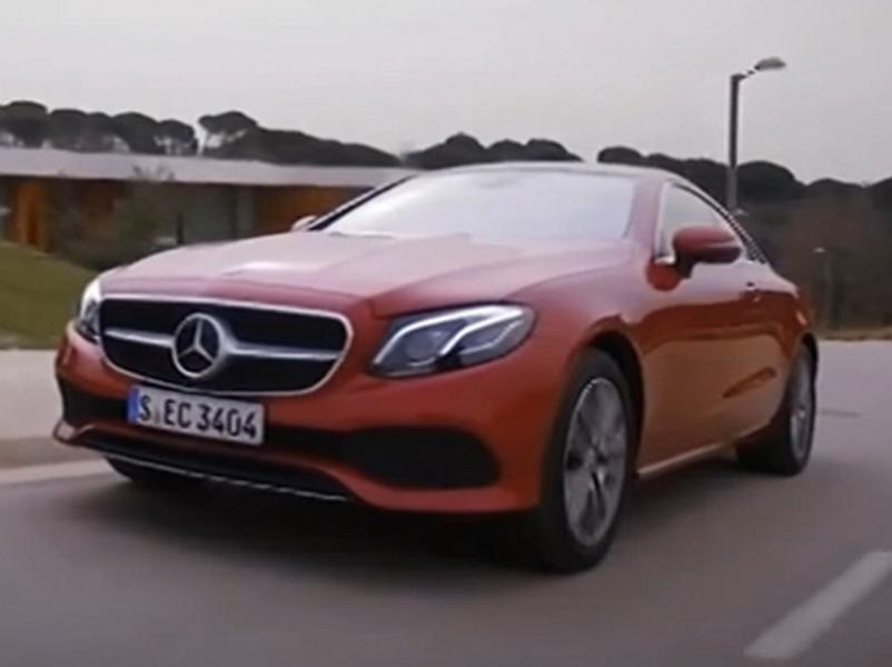 Video test  Mercedes-Benz E 220D Coupe