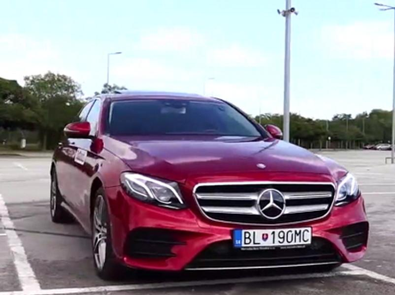 Test Mercedes-Benz E350d