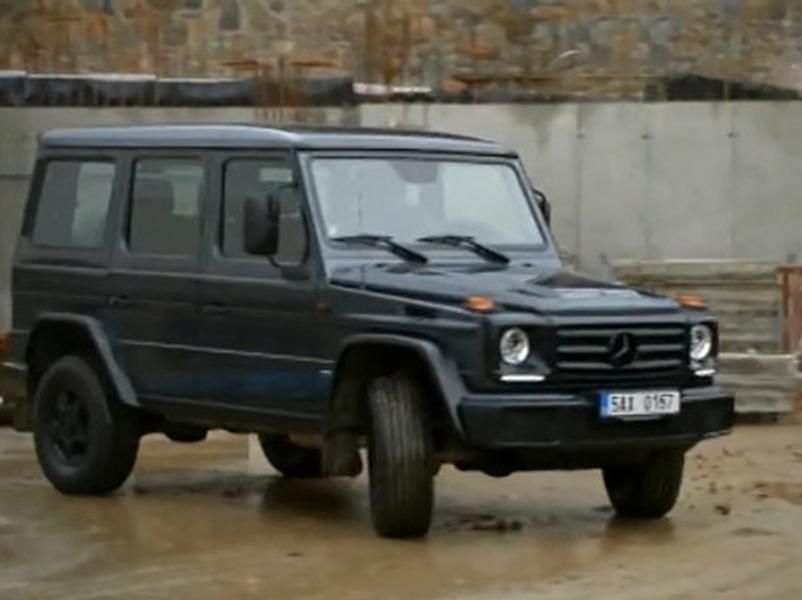 Video test  Mercedes Benz G 350D