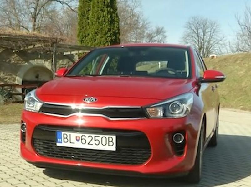 Video test Kia Rio 1.4 MPI