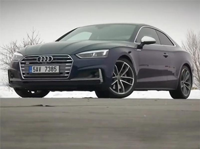 Video test Audi S5 Coupe