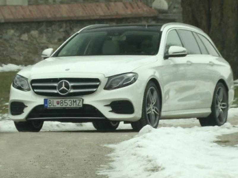 Test Mercedes Benz E 220d