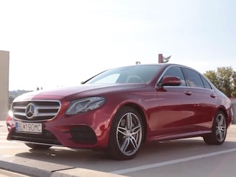 Video test Mercedes-Benz E350d
