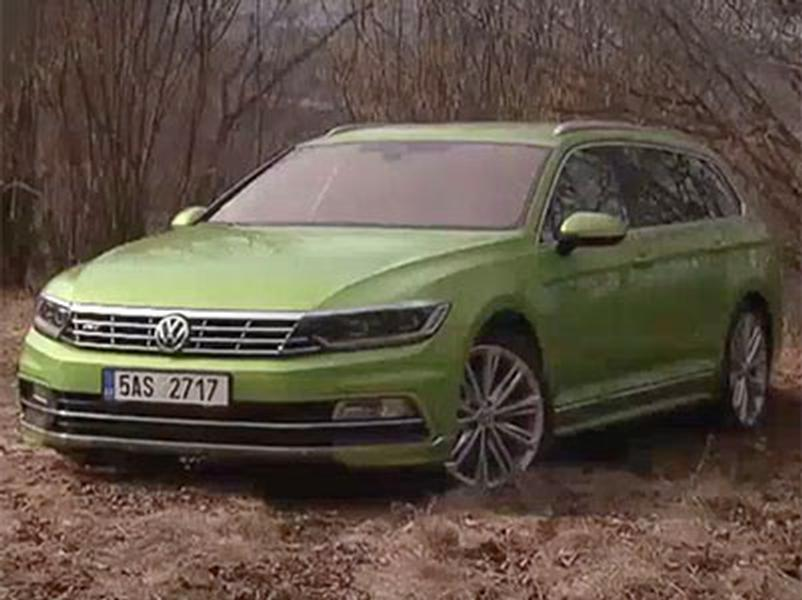 Video test Volkswagen Passat Variant 2.0 TSI 4Motion