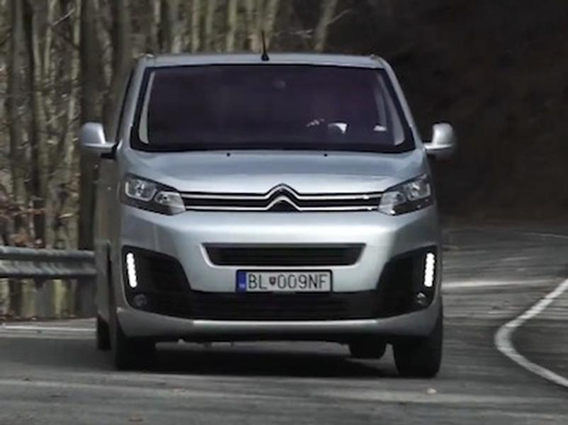 Video test Citroën SpaceTourer