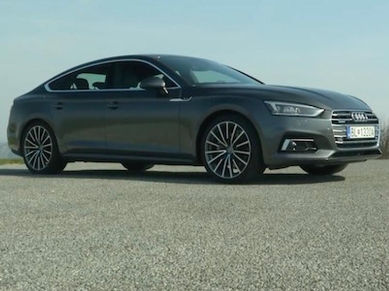 Video test Audi A5 Sportback Quattro