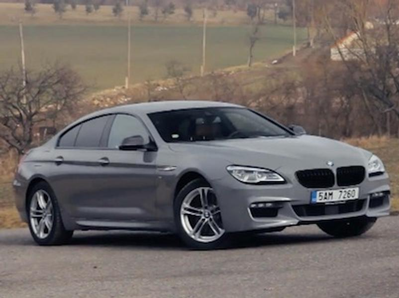 Video test BMW 650i Gran Coupe