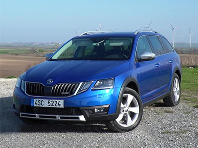 Video test Škoda Octavia Scout