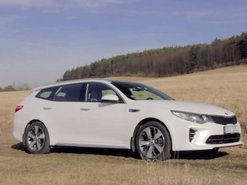 Video test Kia Optima Sportswagon