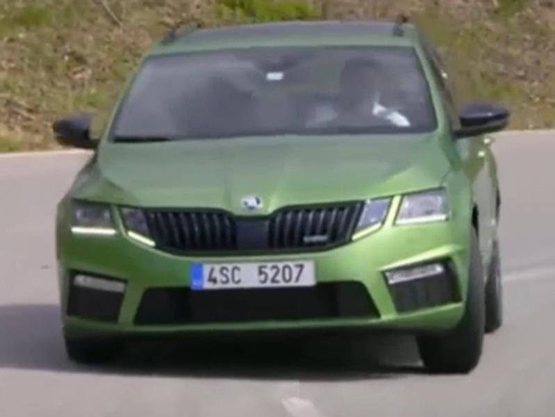 Video test Škoda Octavia RS vs. Škoda Octavia Scout