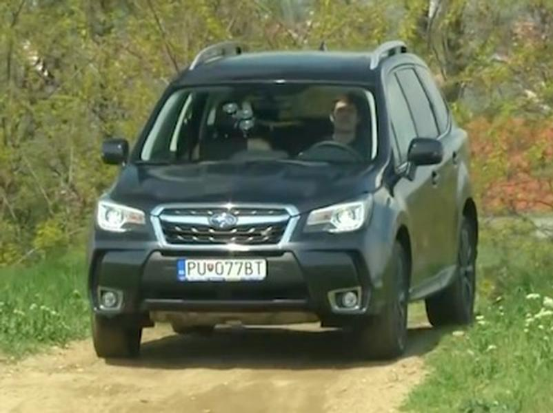 Test Subaru Forester 2.0 XT