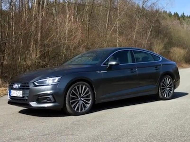 Video test Audi A5 Sportback 2.0 TDI