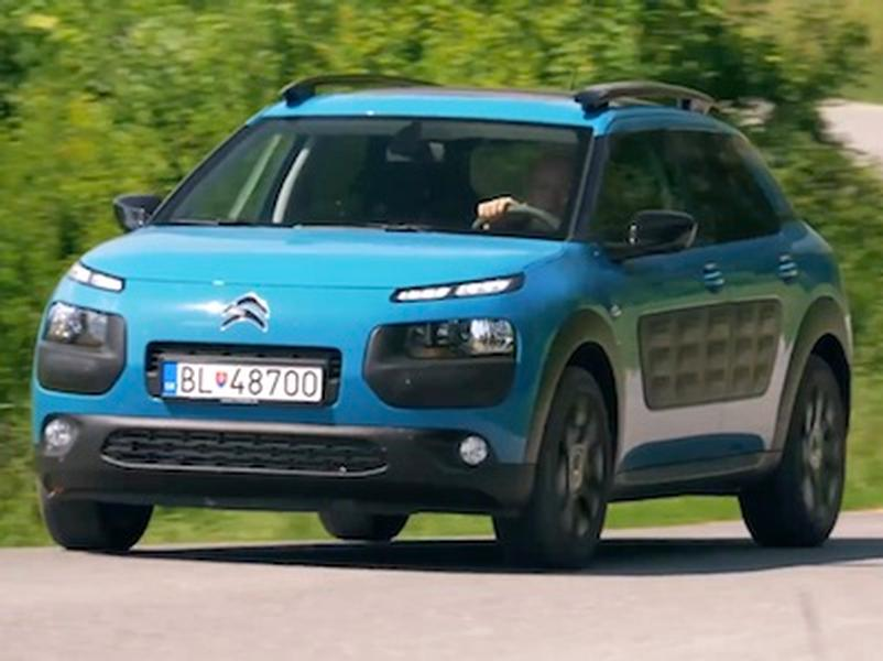 Video test Citroën C4 Cactus 1,2 EAT6
