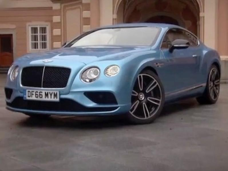 Video test Bentley Continental GT V8 S