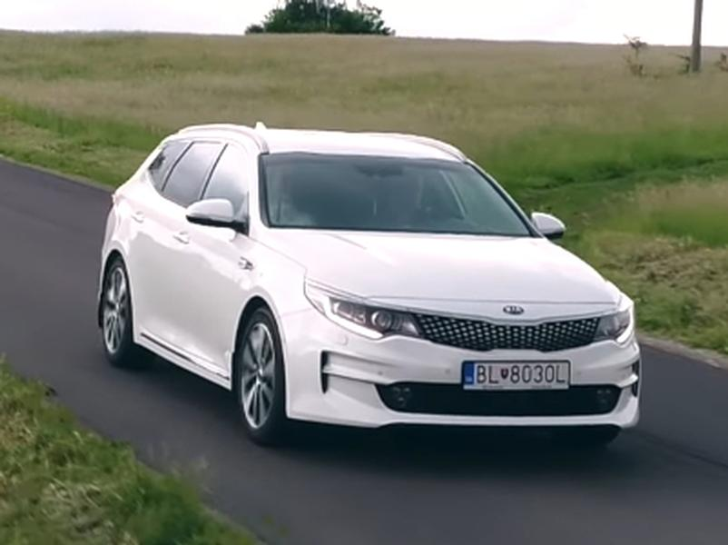 Video test Kia Optima SW 1,7 CRDI DCT
