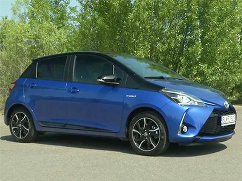 Video test Toyota Yaris Hybrid vs. Benzín