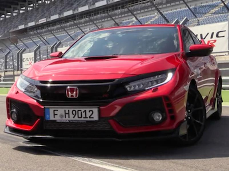 Video test Honda Civic TypeR