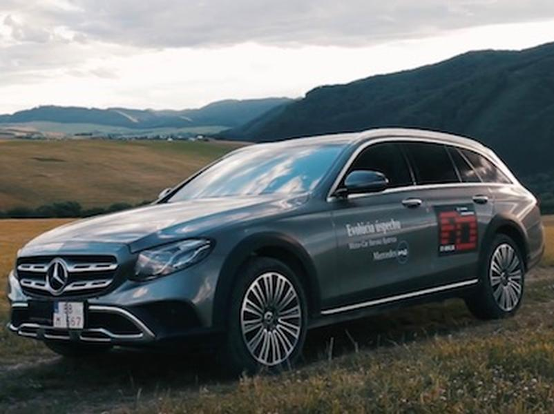 Video test Mercedes-Benz E220d All-Terrain