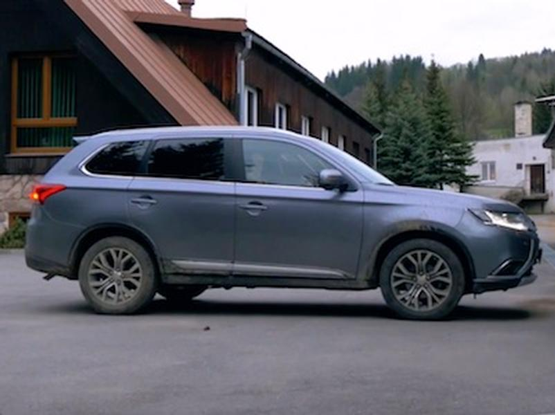 Video test Mitsubishi Outlander 2,2 DI-D 4WD