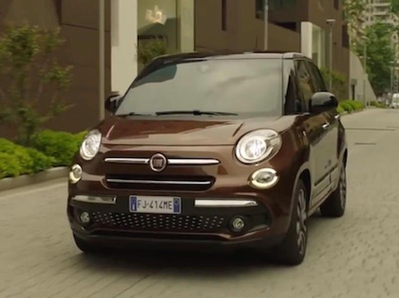 Video test  FIAT 500l Cross 1.6 MultiJet