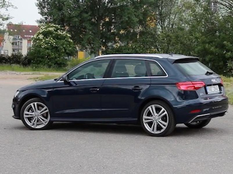 Video test Audi A3 Sportback E-Tron