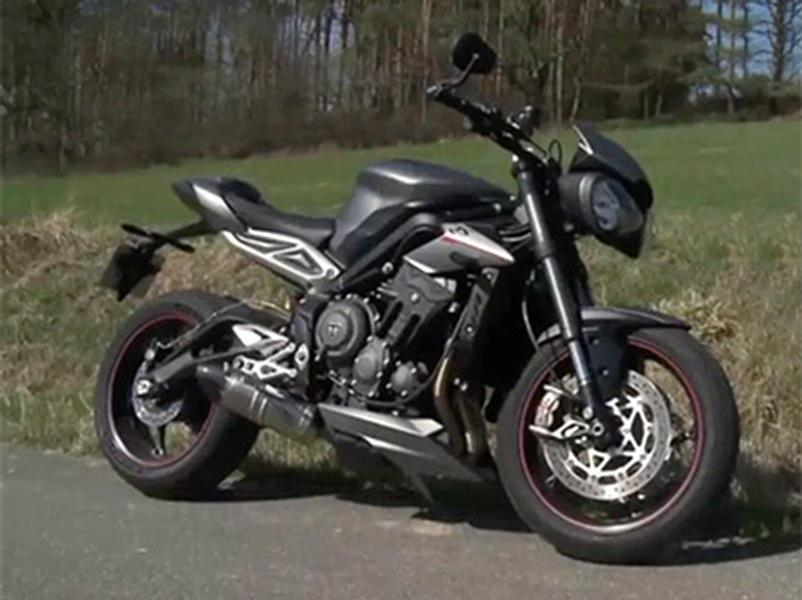 Video test Triumph Street Triple RS