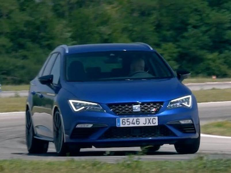 Video test Seat Leon Cupra 300 vs. Seat Ibiza 1,5 TSI